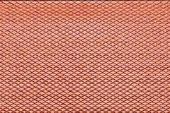 Textura del tejado de la baldosa cerámica de Brown para el fondo Imágenes de archivo libres de regalías