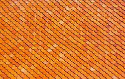 Textura del tejado del templo Fotografía de archivo