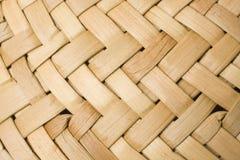 Textura del trenzado de la paja Foto de archivo libre de regalías