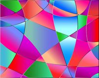 Textura del vidrio manchado Imágenes de archivo libres de regalías