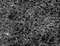 Textura del vidrio roto Fotografía de archivo libre de regalías