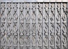 Textura del vintage con los elementos decorativos del hierro Foto de archivo libre de regalías