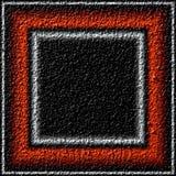Textura del yeso como marco para la foto Imagen de archivo