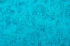 Textura del yeso o del hormig?n decorativo de la turquesa Fondo abstracto para el dise?o fotografía de archivo