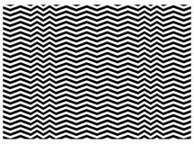 Textura del zigzag Foto de archivo