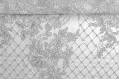 Textura Desenho Fundo Tela de prata do laço Você caiu no lo Fotografia de Stock Royalty Free