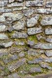 Textura desigual de la pared de piedra Foto de archivo