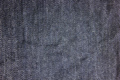 Textura desvanecida da tela da sarja de Nimes Imagem de Stock Royalty Free