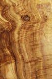 Textura detalhada alta da placa de madeira verde-oliva Foto de Stock