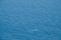 Textura detalhada da água do mar Foto de Stock