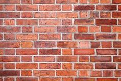 Textura detalhada do fundo da parede de tijolo vermelho imagens de stock royalty free
