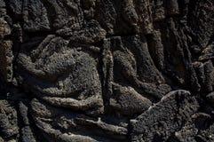 Textura DF México de los bloques de la lava de Xochimilco Fotografía de archivo libre de regalías