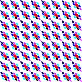 Textura diagonal colorida geométrica com rombos Motivo tradicional, teste padrão do argyle ilustração royalty free