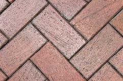 Textura diagonal del ladrillo Imagen de archivo libre de regalías