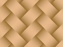 Textura diagonal sem emenda do fundo de Basketweave Imagens de Stock