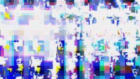 Textura digital do fundo do projeto do pulso aleatório, gráfico do teste padrão ilustração stock
