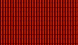 Textura digital pintada roja del tejado fotos de archivo