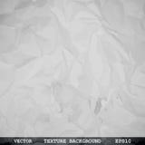 Textura diseñada del papel arrugado Fotografía de archivo