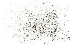 Textura dispersada da cinza Foto de Stock Royalty Free