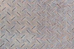 Textura do aço do teste padrão do diamante Imagem de Stock Royalty Free
