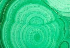 Textura do agregado de mineral da malaquite Fotos de Stock