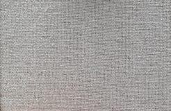 Textura do algodão cinzento, fundo Fotografia de Stock Royalty Free