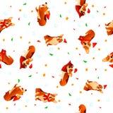 Textura do ano novo Fotografia de Stock