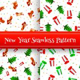 Textura do ano novo Imagem de Stock