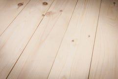 Textura do assoalho das placas de madeira Foto de Stock