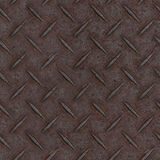 Textura do assoalho do painel do metal de Tileable Foto de Stock Royalty Free