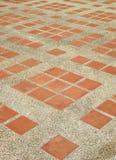 Textura do assoalho expor do cimento telhado fotos de stock