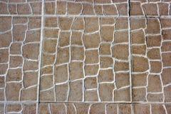 Textura do assoalho ou da parede de telha cerâmica Fotografia de Stock
