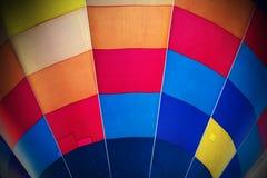 Textura do balão de ar quente da cor da mistura Foto de Stock