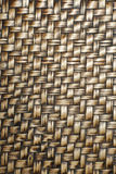 Textura do bambu do Weave Fotos de Stock