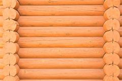 A textura do banho de madeira do log Fundo de madeira natural fotos de stock royalty free