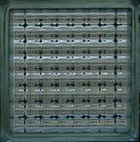 Textura do bloco de vidro do fundo Imagem de Stock Royalty Free