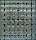 Textura do bloco de vidro do fundo Fotografia de Stock