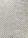 Textura do branco e do Grey Chevron Rug Quarto principal na casa luxuosa moderna imagens de stock