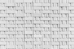 Textura do branco do teste padrão do bloco de cimento foto de stock royalty free