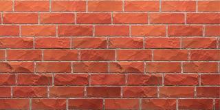 Textura do brickwall vermelho do grunge ilustração royalty free