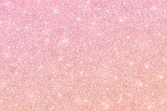 Textura do brilho do ouro de Rosa com inclinação da cor ilustração royalty free