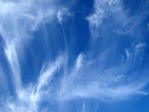 Textura do céu imagens de stock