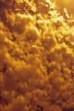 Textura do céu Fotografia de Stock