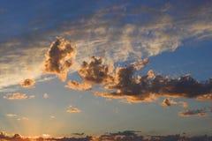 Textura do céu Fotos de Stock