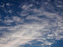 Textura do céu azul Imagens de Stock Royalty Free