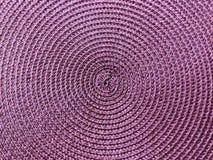 Textura do círculo com o tecido detalhado para fundos fotografia de stock