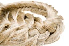 Textura do cabelo Imagem de Stock Royalty Free