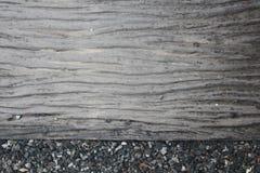 A textura do caminho e dos seixos Fotos de Stock