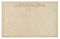 Textura do cartão do vintage Fundo de papel usado fotos de stock
