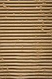 Textura do cartão ondulado foto de stock